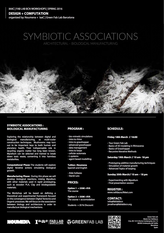 Symbiotic Associations 2016